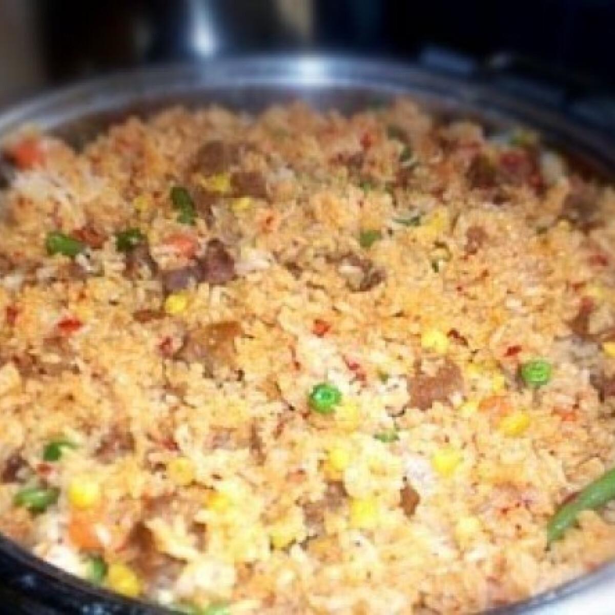 Mexikói rizses hús