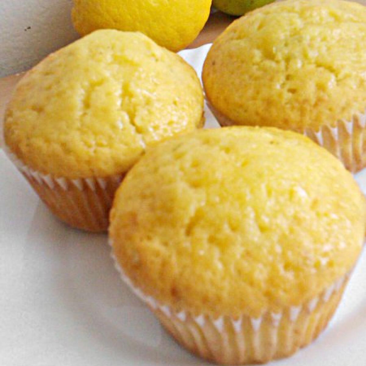Lime szirupos muffin