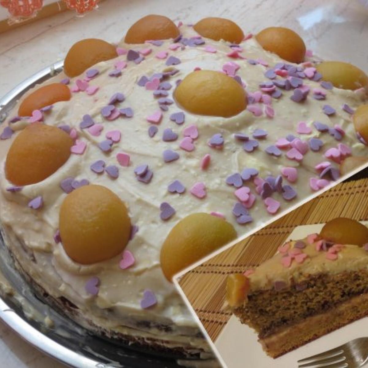 Ezen a képen: Kávés torta Clya konyhájából