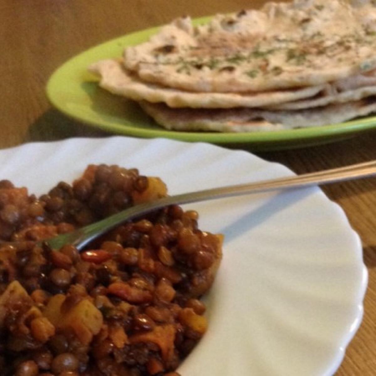 Ezen a képen: Currys lencse indiai módra