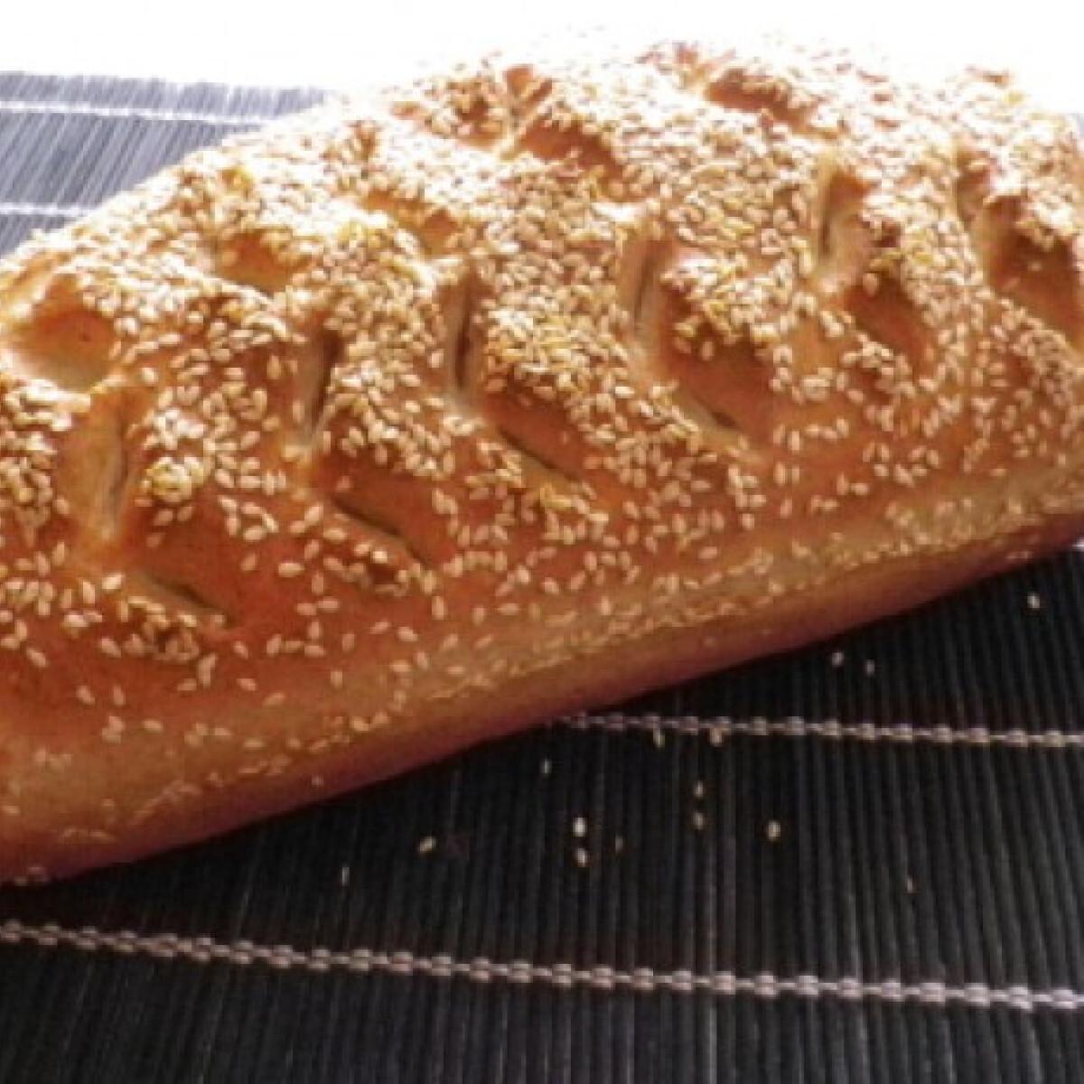 Ezen a képen: Graham kenyér Évi néni konyhájából