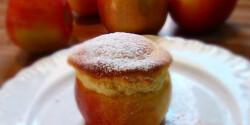 Ízletes alma francia sapkában
