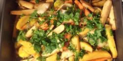 Sült zöldségek BackerMan konyhájából