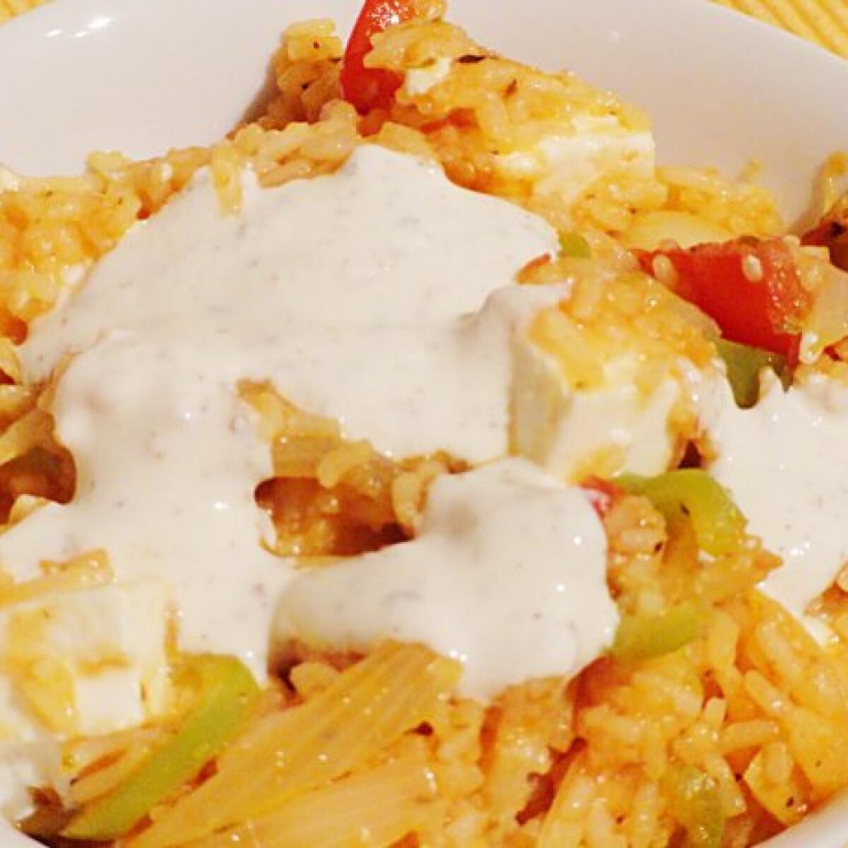 Ezen a képen: Görög rizs