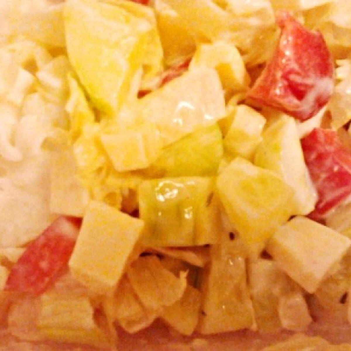 Ezen a képen: Gyors saláta Lina konyhájából