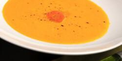 Narancsos sárgarépaleves Péterfy Boritól