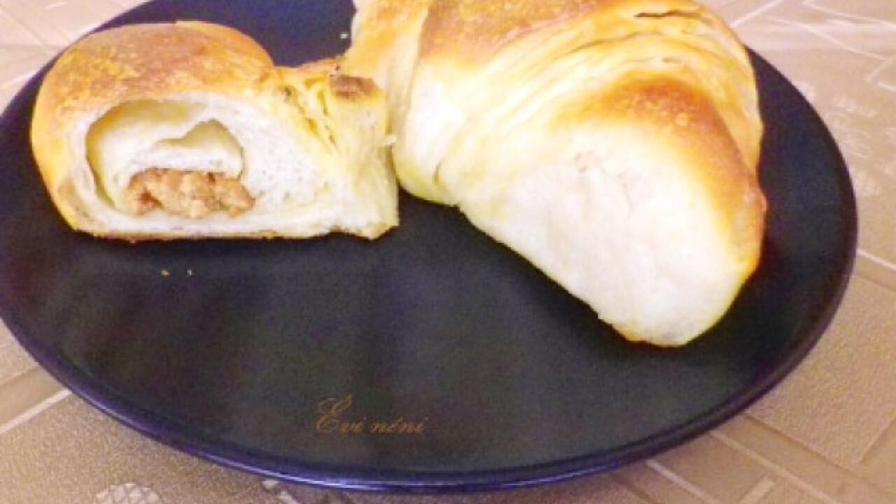 Mogyoróvajas croissant