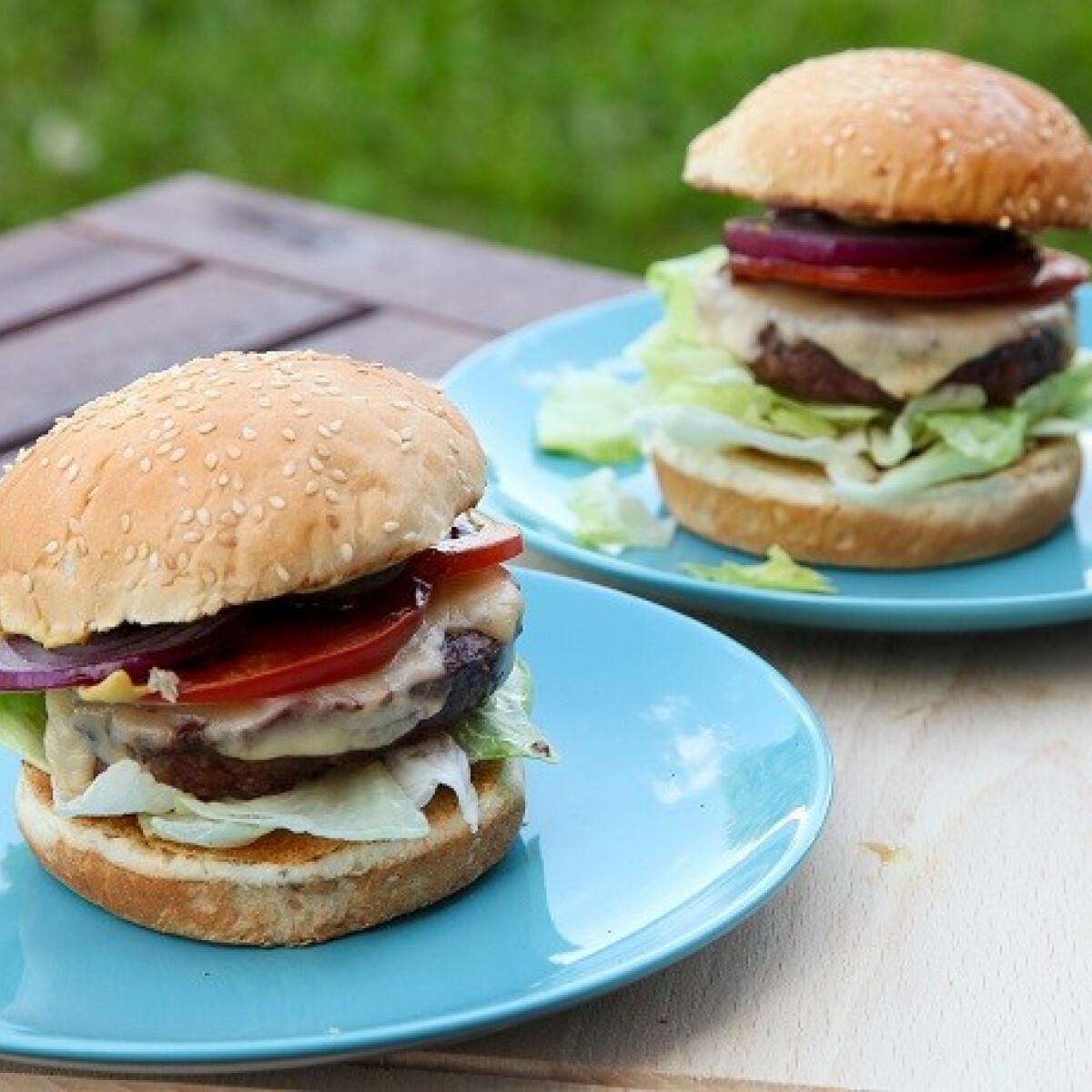 Ezen a képen: Hamburger