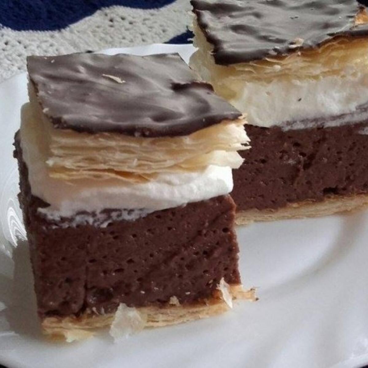Ezen a képen: Csokoládés krémes