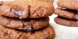 Nutellás keksz csokidarabokkal