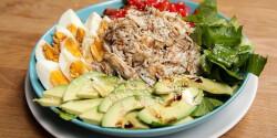 Színes fitness saláta