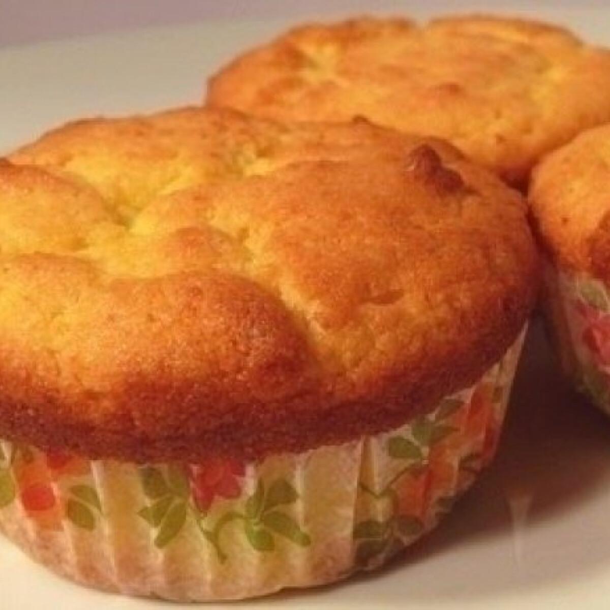 Citromos-ricottás muffin