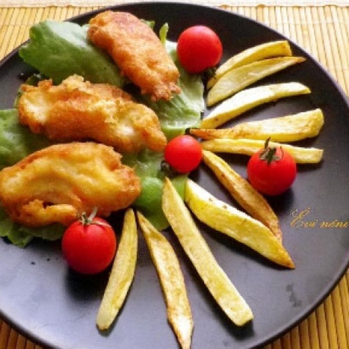 Ezen a képen: Orly módra sült csirke