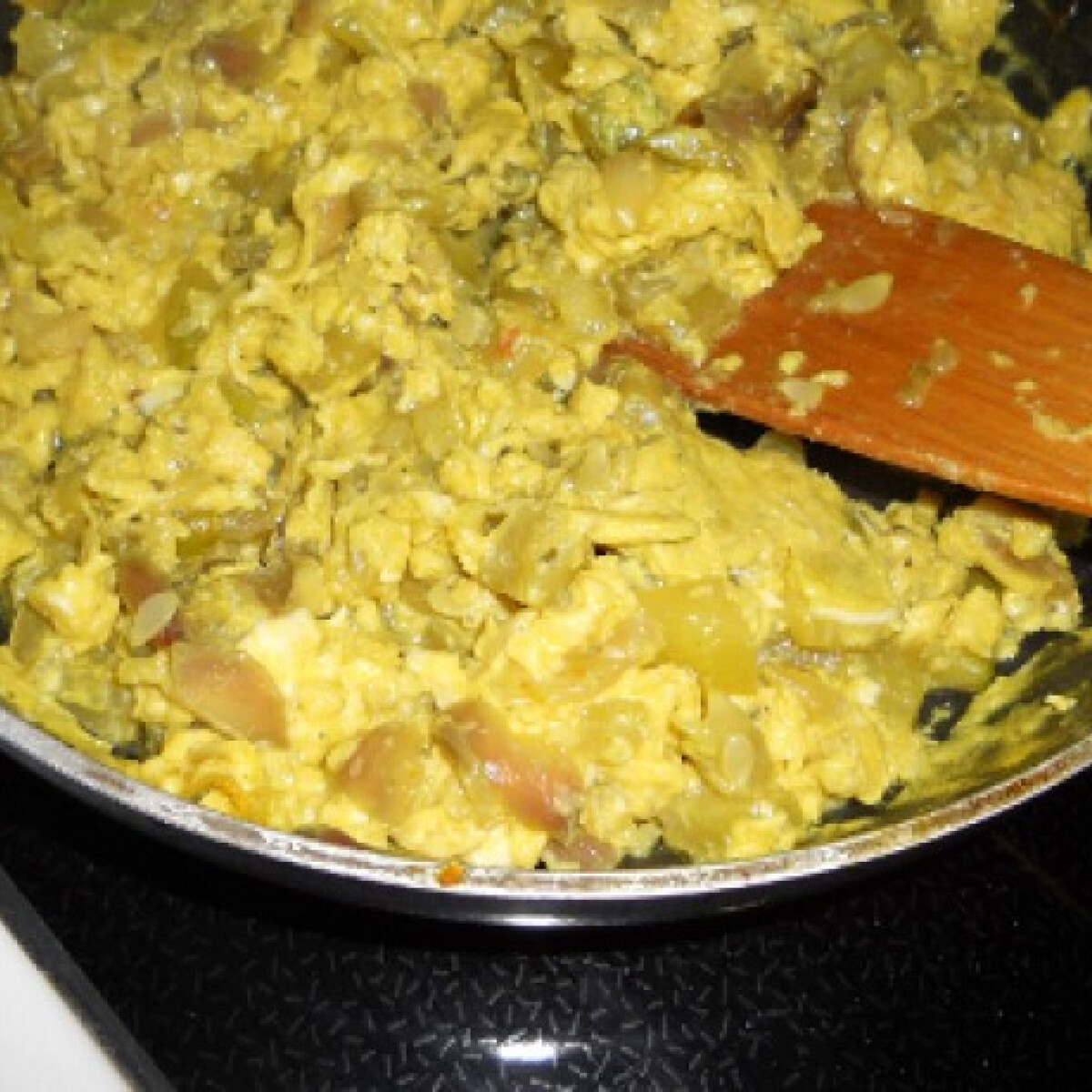 Ezen a képen: Cukkinis rántotta Tomatotree konyhájából