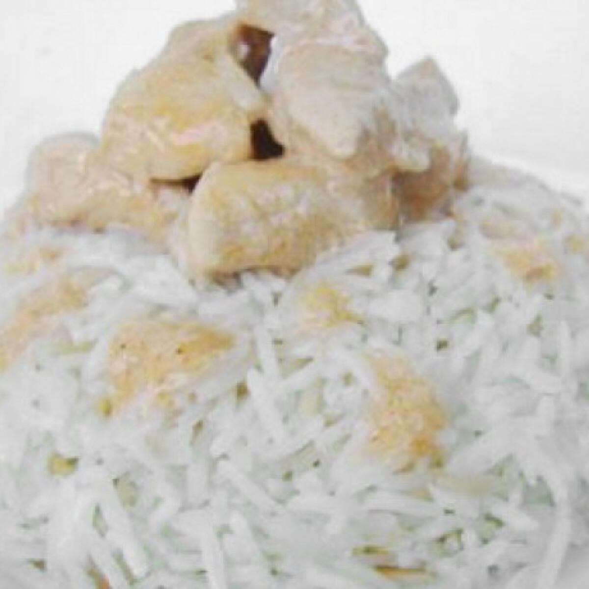 Ezen a képen: Tejszínes csirke Kókuszos Lány konyhájából