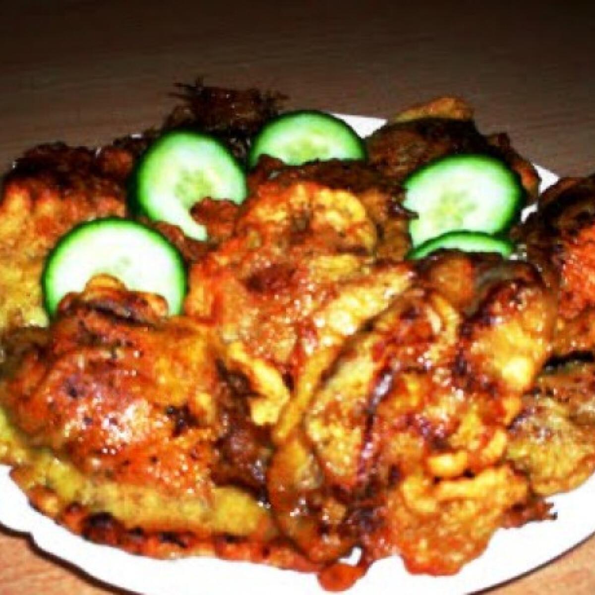 Csirkemáj fűszeres bundában
