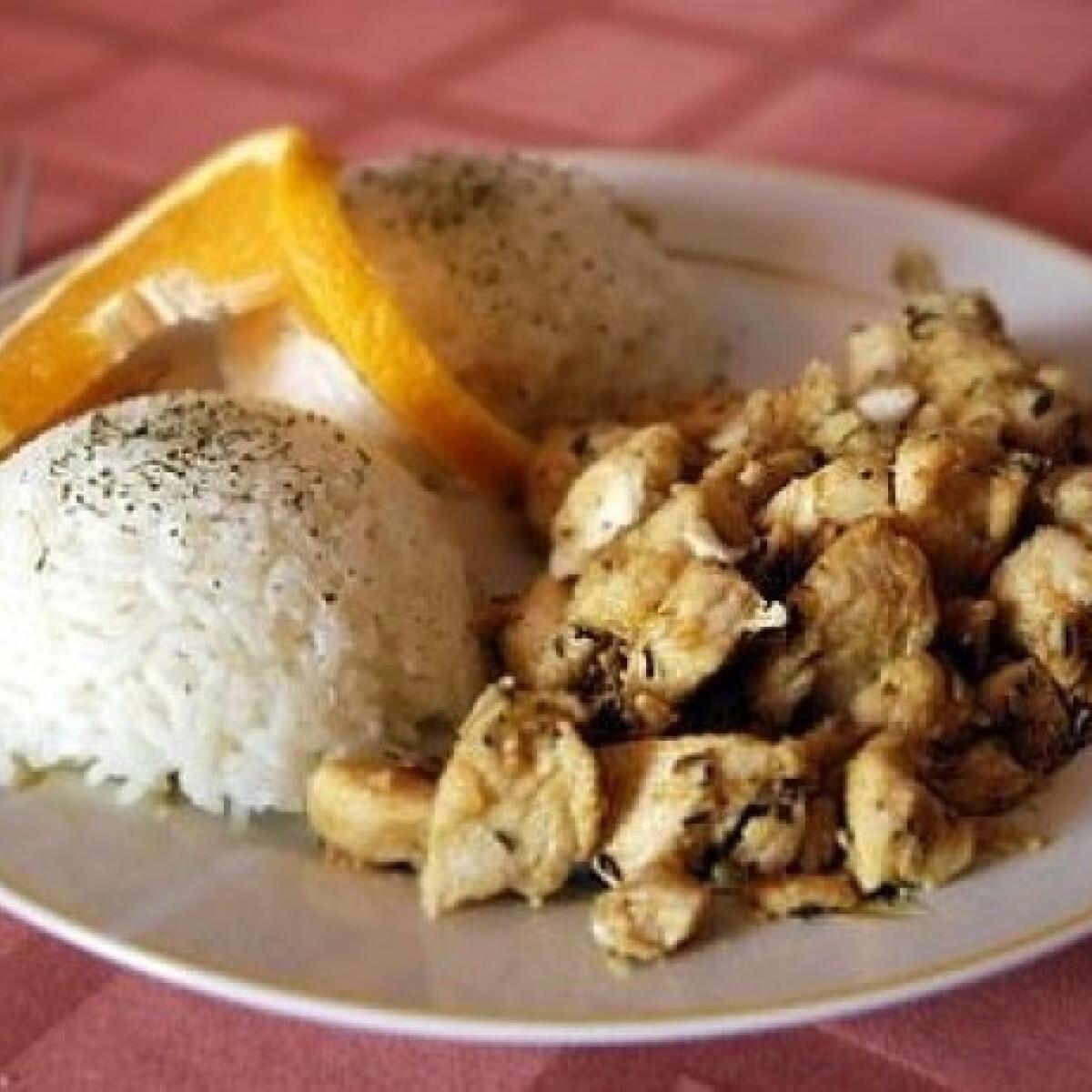 Ezen a képen: Mediterrán csirke