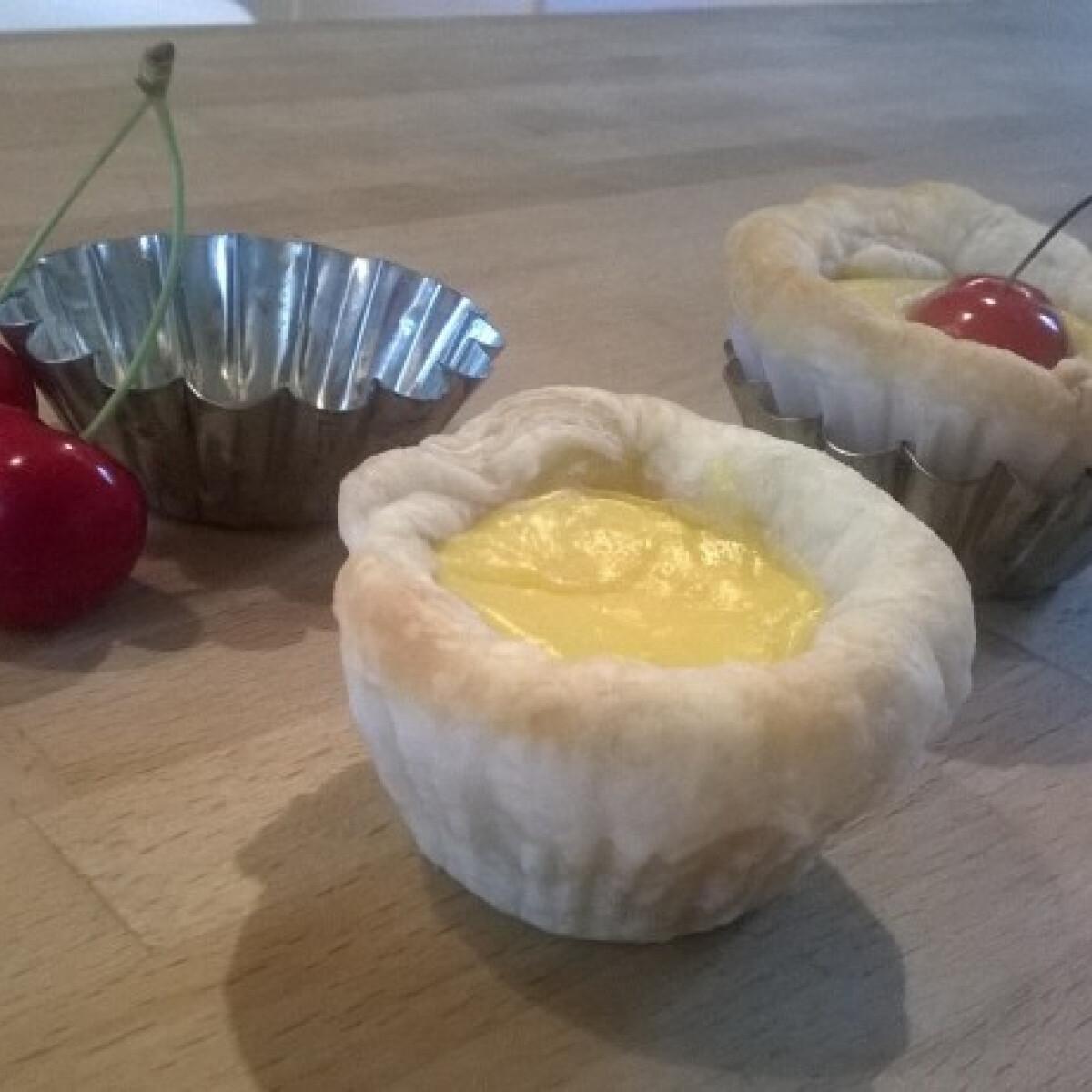 Ezen a képen: Portugál vaníliás kosárka Allisc konyájából