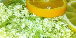 Citromos-narancsos bodzaszörp