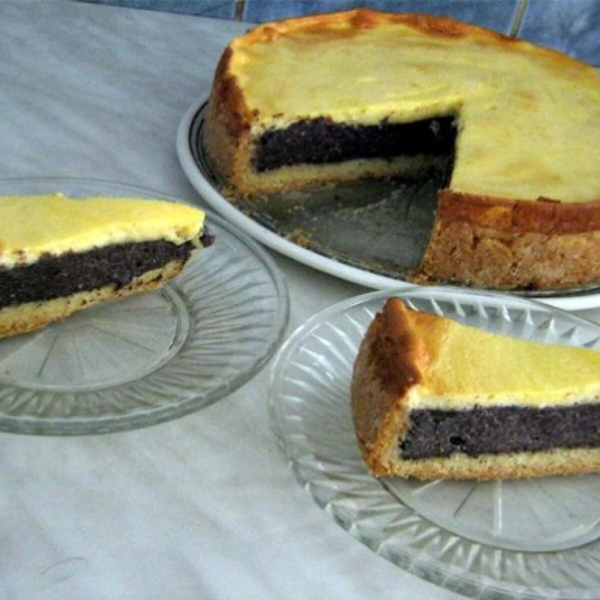 Ezen a képen: Mákos-citromos torta Iluskától