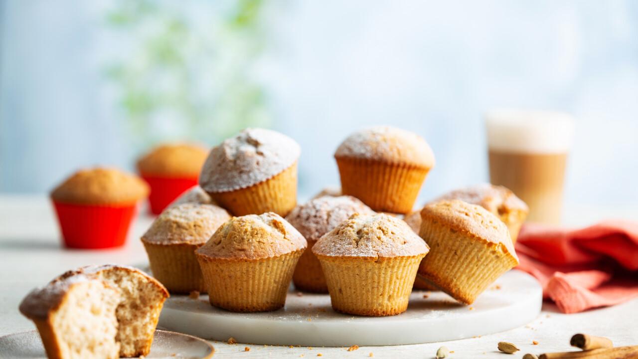 Mézeskalácsos muffin Philips Airfryerben készítve