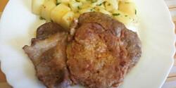 Savanyú krumplisaláta cigánypecsenyével
