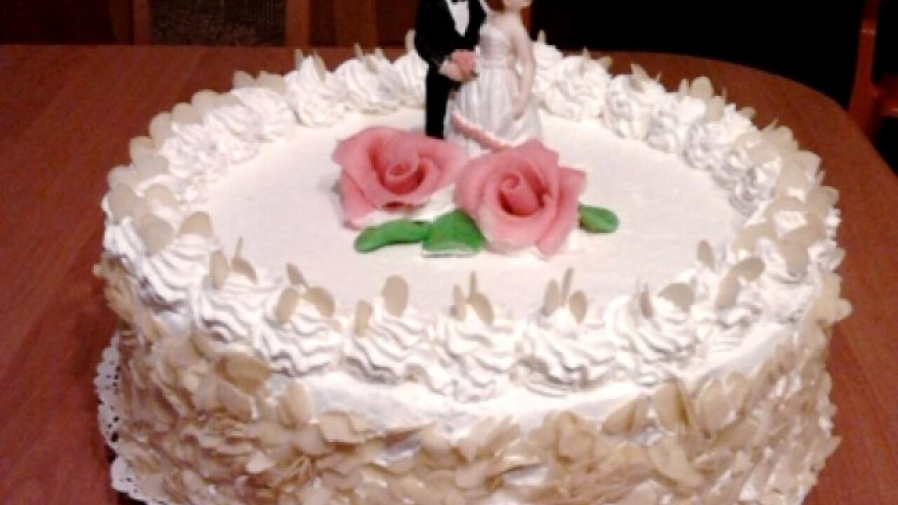 Esküvői gesztenyetorta