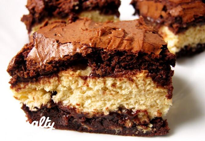 Ezen a képen: Kókuszos brownie