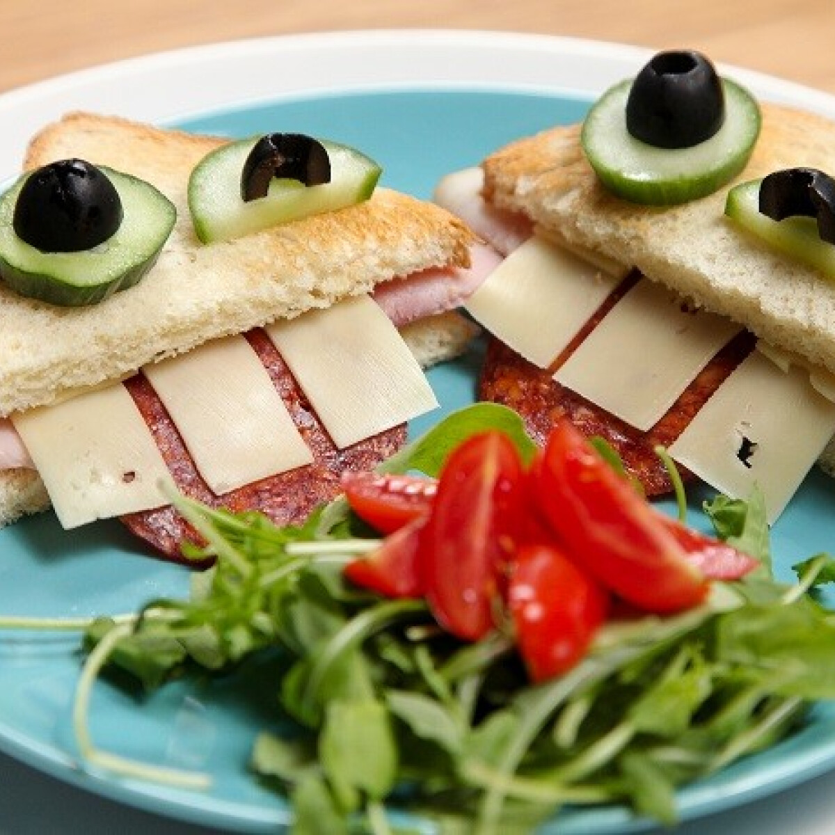 Ezen a képen: Vicces szendvicsek SPAR konyhájából