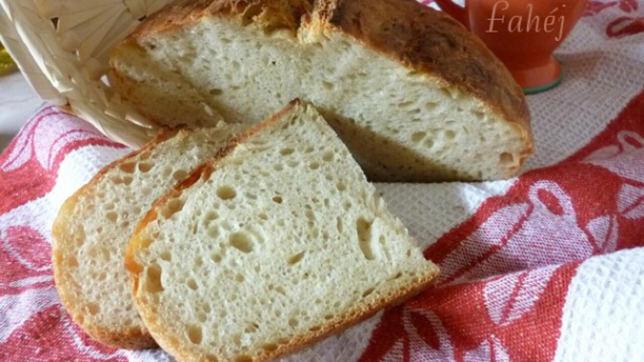 Vadkovászos fehér kenyér