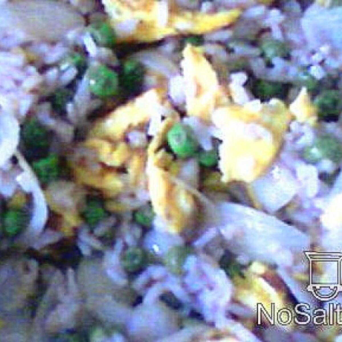 Ezen a képen: Tojásos rizs Pankota konyhájából