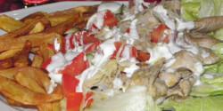 Csirke gyros tál Károly konyhájából
