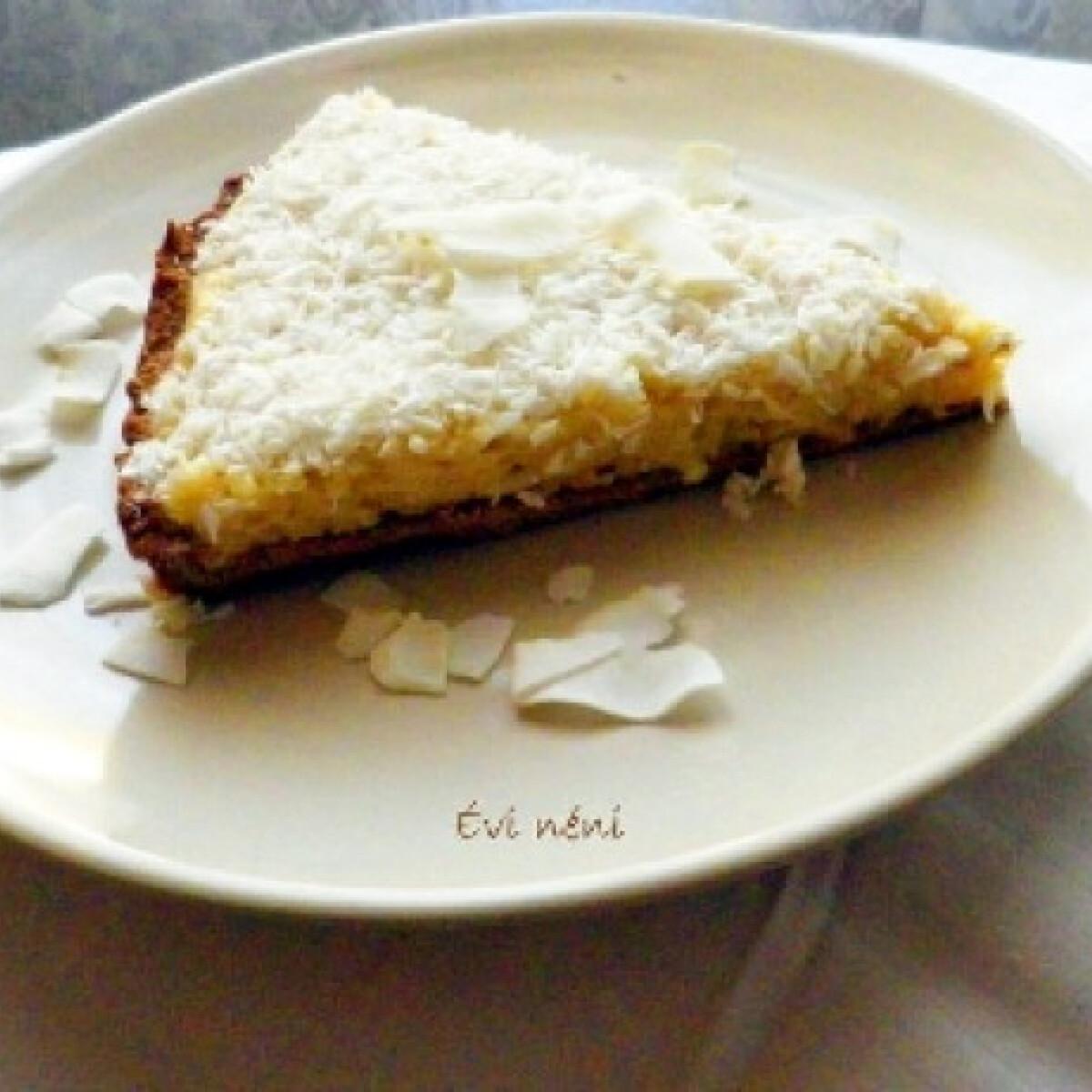 Vaníliás-kókuszos torta