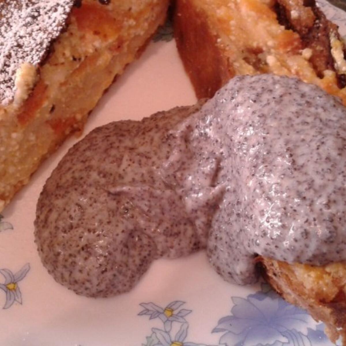 Mákkrém süteményekhez és desszertekhez