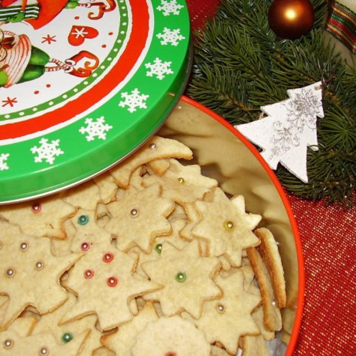 Ezen a képen: Karácsonyi citromos - gyömbéres keksz
