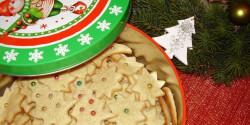 Karácsonyi citromos - gyömbéres keksz