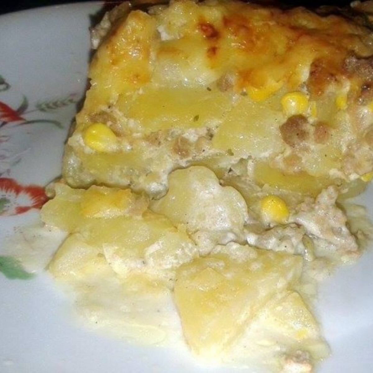 Ezen a képen: Tejszínes rakott krumpli ktimike konyhájából