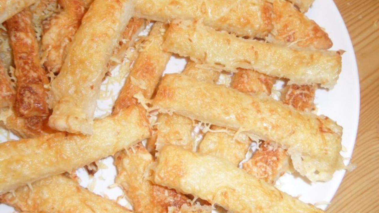 Sós-sajtos rudak