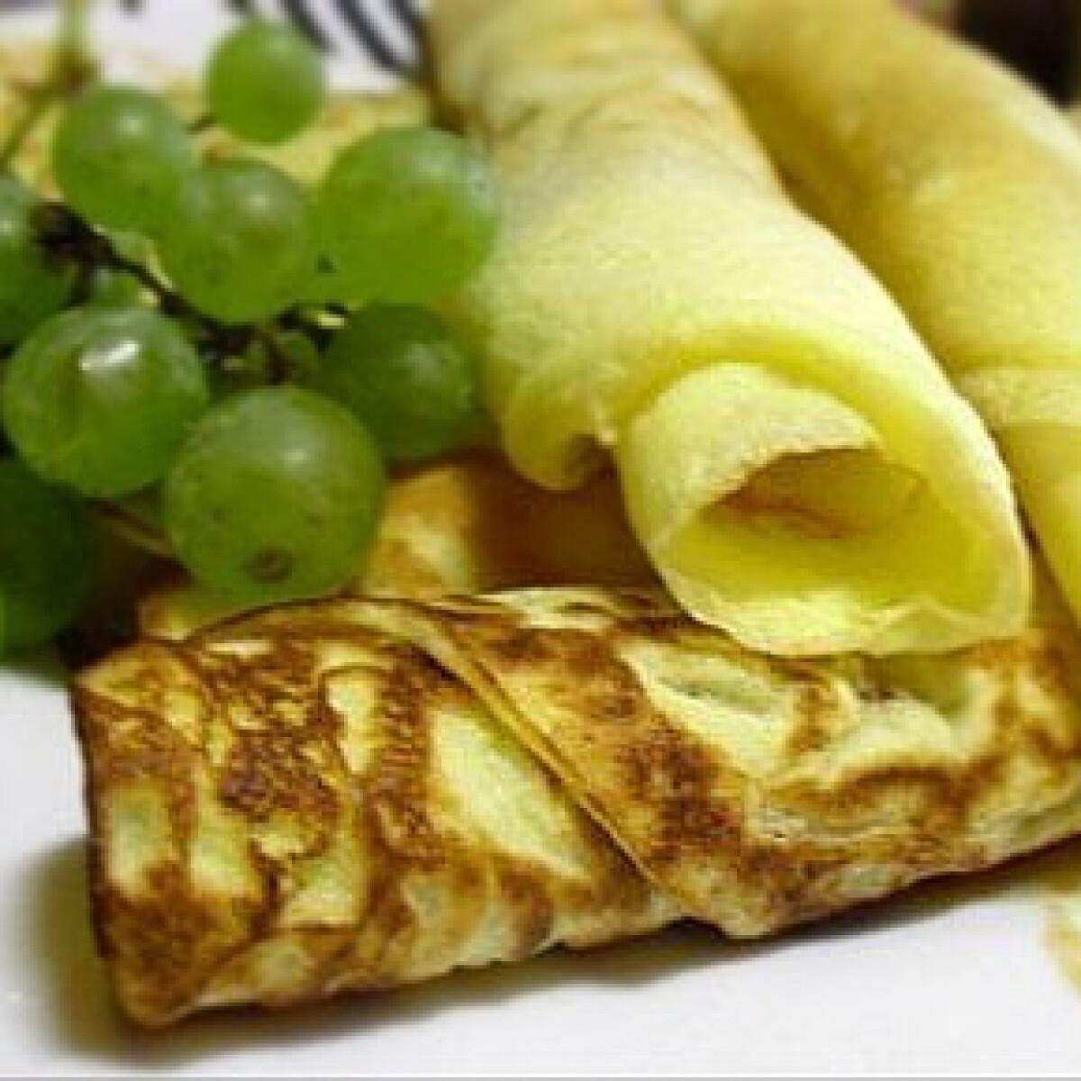 Ezen a képen: Palacsinta 4. - gluténmentes