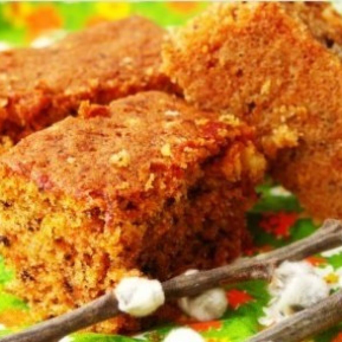 Ezen a képen: Diós-sárgarépás sütemény 3.