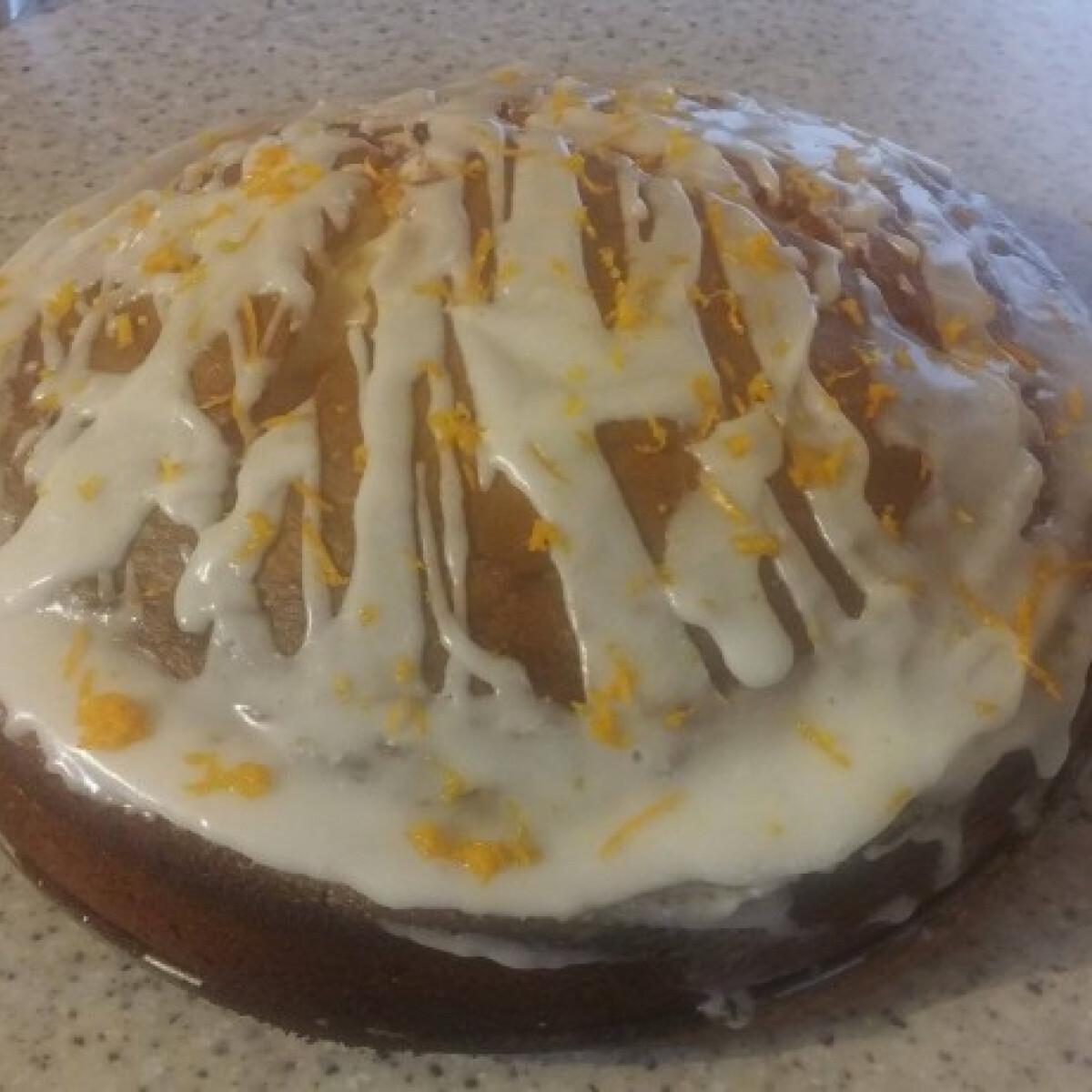 Könnyű citromos torta