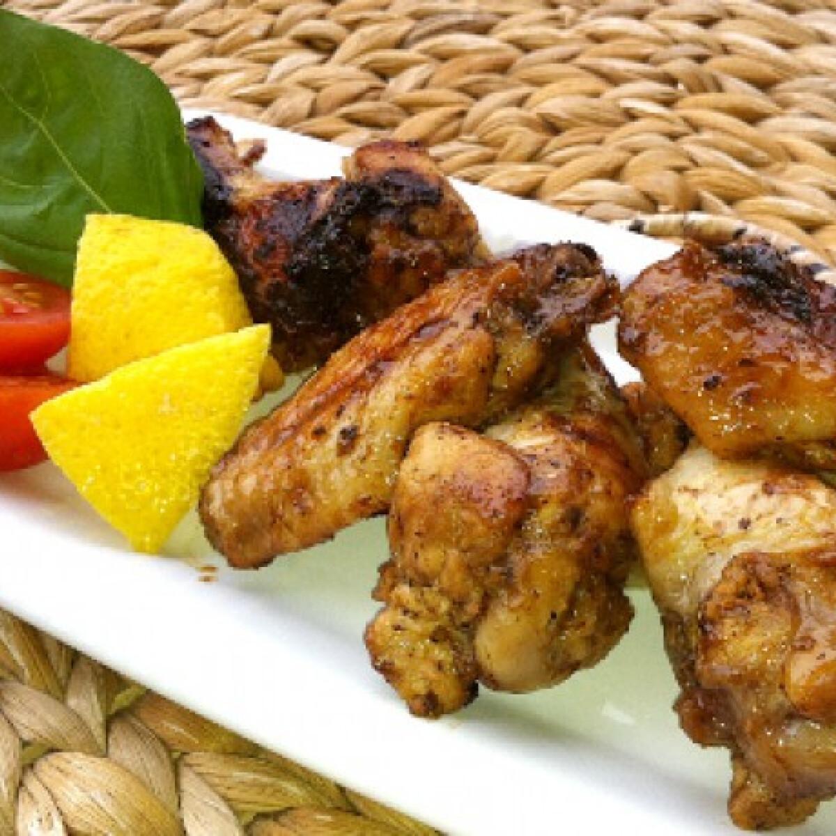 Ezen a képen: Citromos csirkeszárny