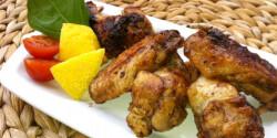 Citromos csirkeszárny