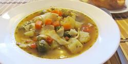 Zöldséges lebbencsleves Helga1 konyhájából