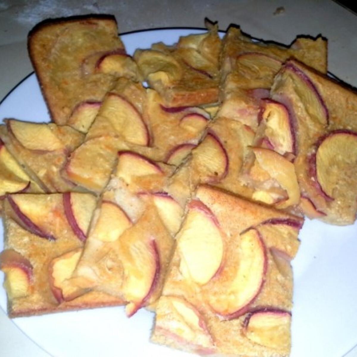Citrusos-őszibarackos zabpite
