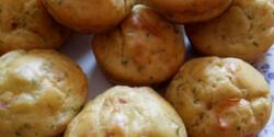 Sonkás-sajtos muffin Andi konyhájából