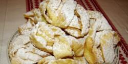Forgáncsfánk vaníliás cukorral