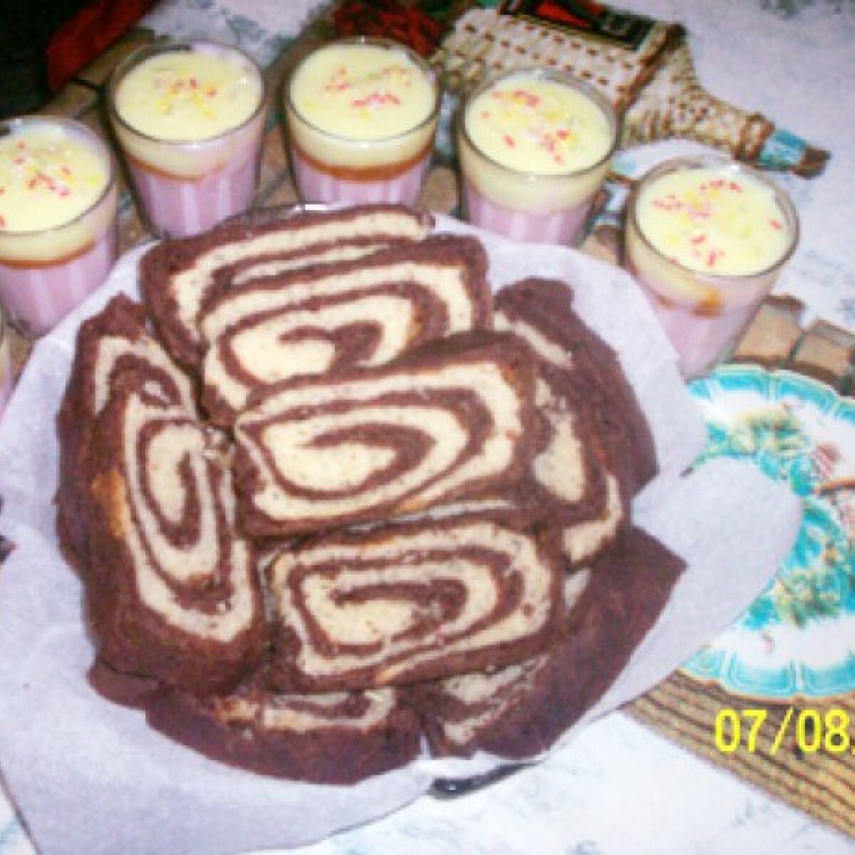 Ezen a képen: Csíkos kalács Gabimami konyhájából