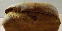 Diós rozskovászos kenyér