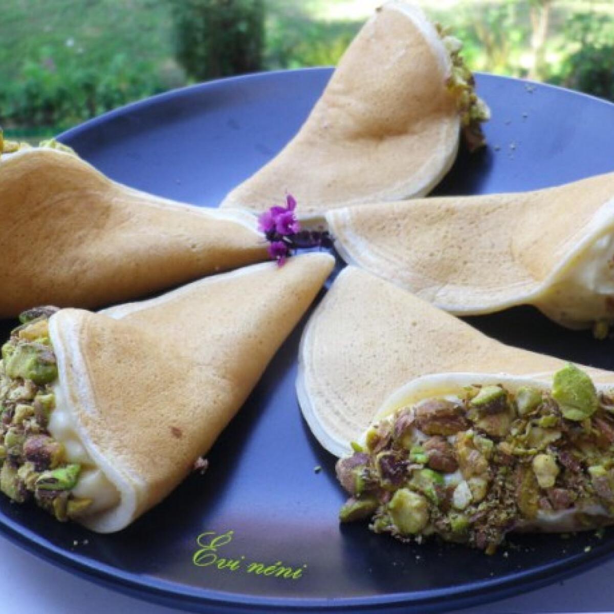 Ezen a képen: Arab palacsinta